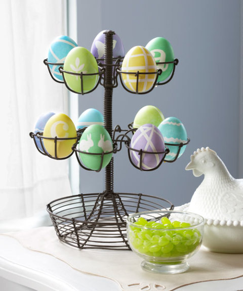 Pretty Patterned Easter Eggs