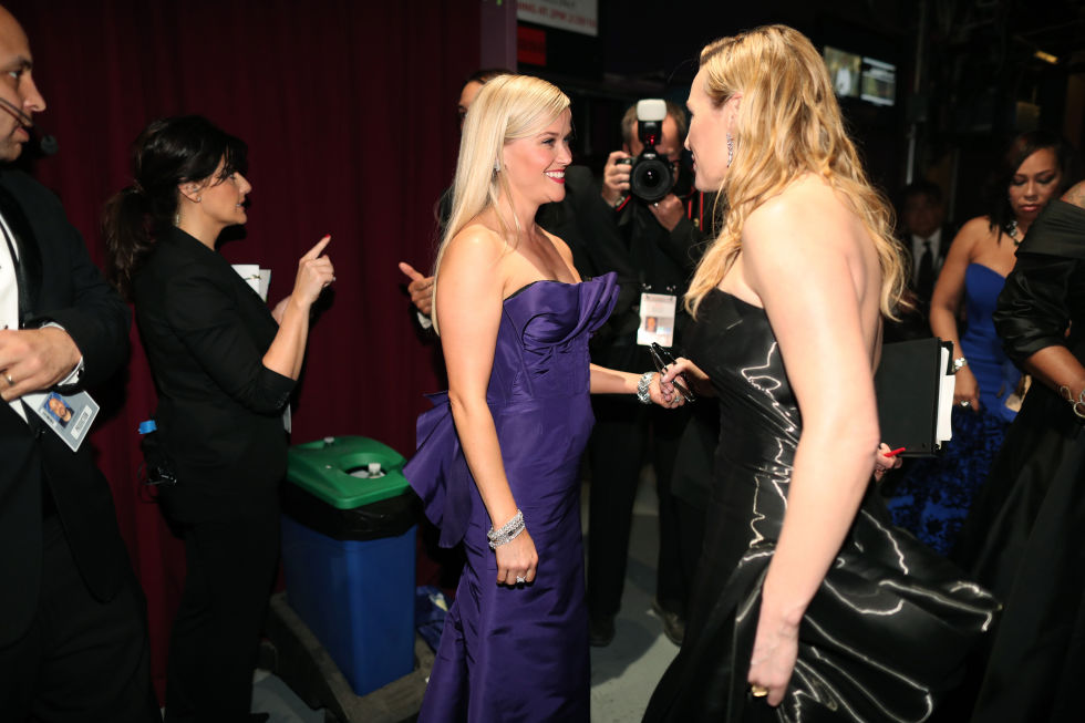 Reese Witherspoon and Kate Winslet