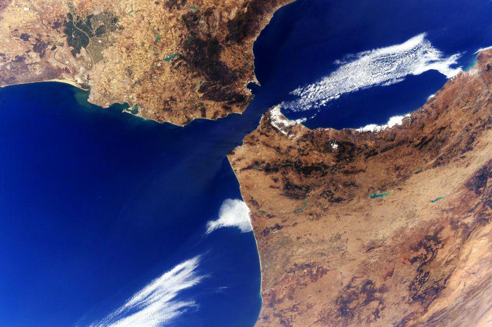 Strait of Gibraltar.