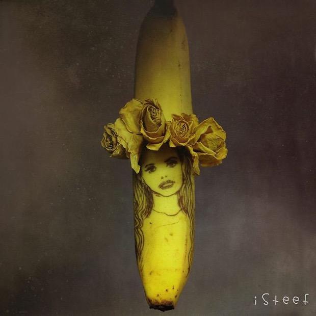 Niesamowite dzieła sztuki z bananów