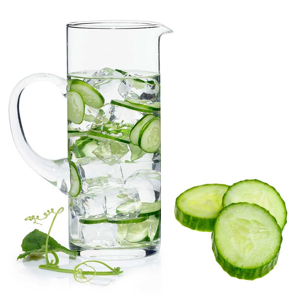 Woda z ogórkiem - 7 powodów zdrowotnych