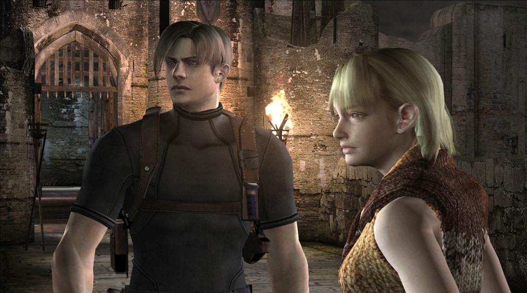 Leon i Ashley w RE4