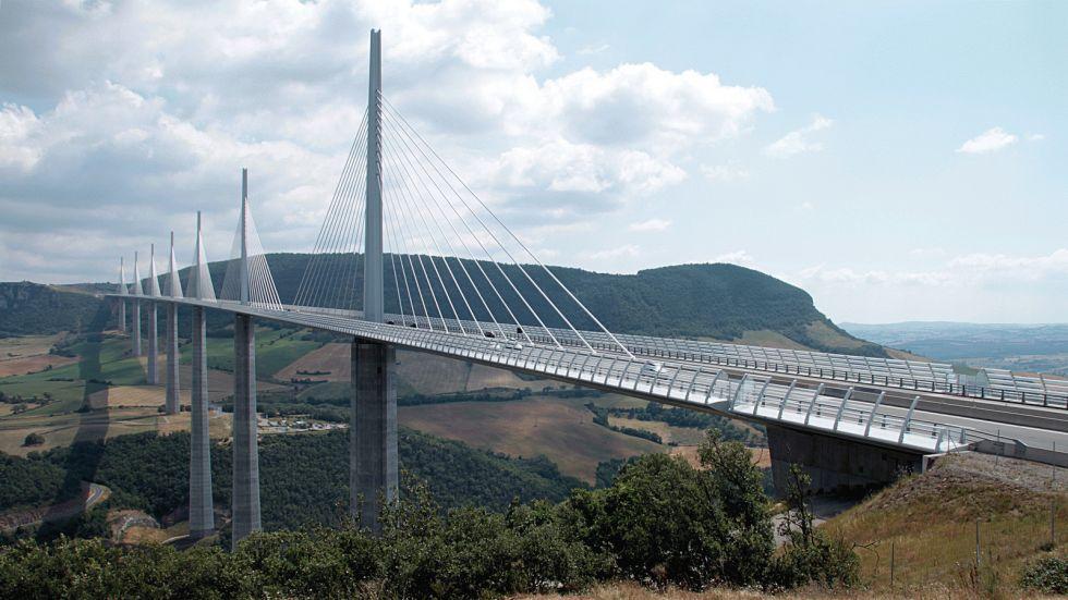 The Millau Viaduct (World's tallest bridge, France)