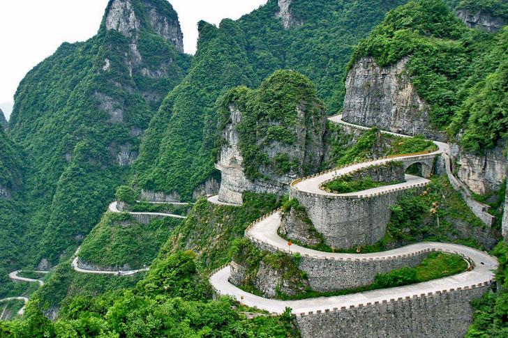 Tianmen Mountain Road (China)
