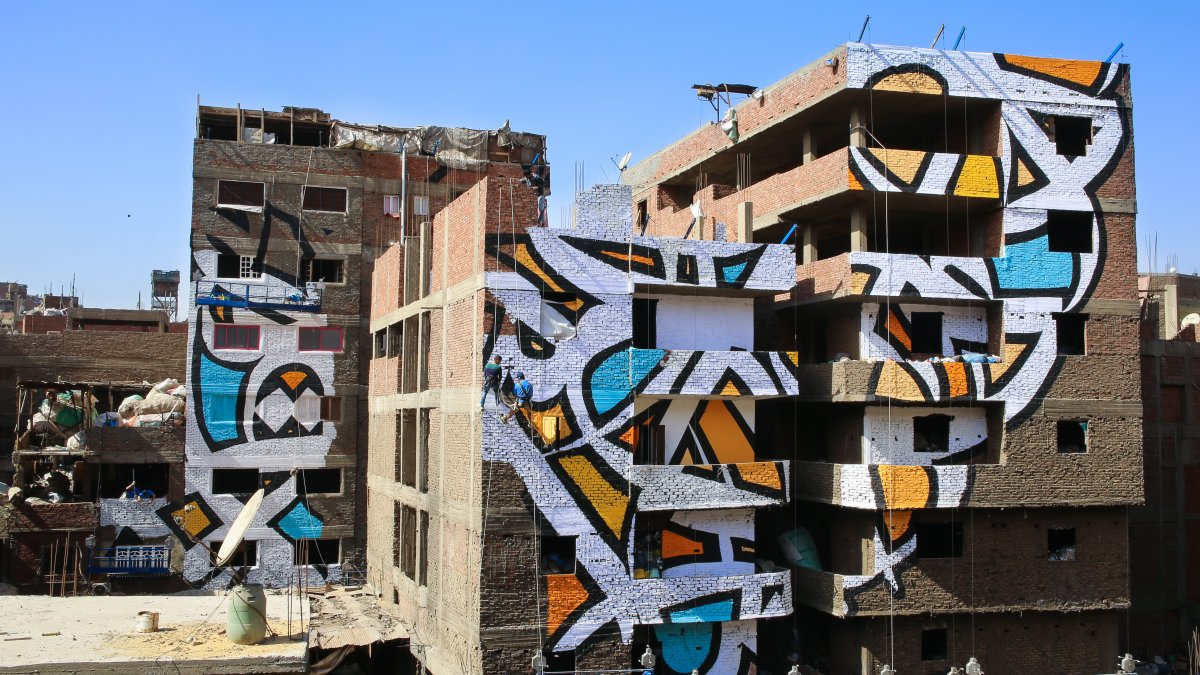 gigantyczny mural