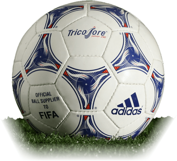 1998 FIFA World Cup France adidas Tricolore Junior ball-ie-fs8