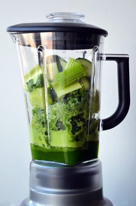 zielony napój odchudzający