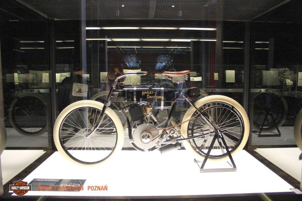 Harley-Davidson pierwszy motor