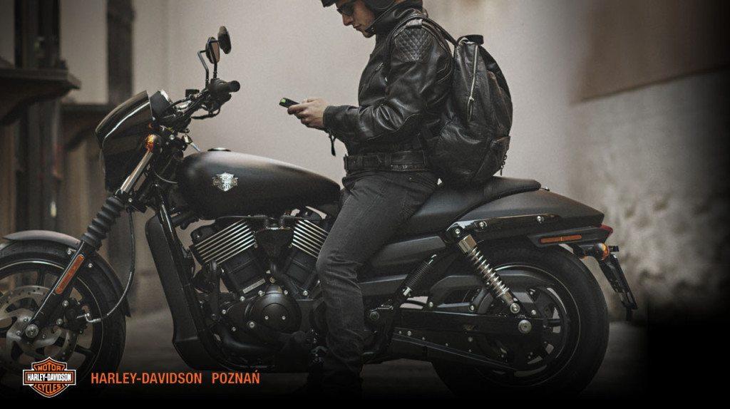 Harley-Davidson to również wygoda