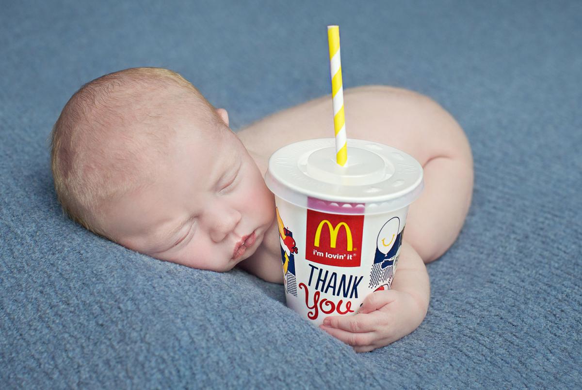 Bobas wybrał sobie firmę McDonald's za miejsce narodzin