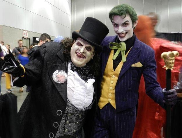 Penguin (Batman Returns) & The Joker (Batman)