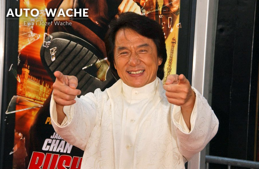 Jackie Chan wybrał Mitsubishi