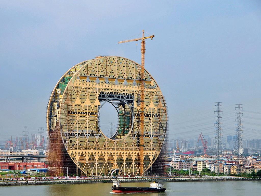 11 najdziwniejszych budynków w Chinach