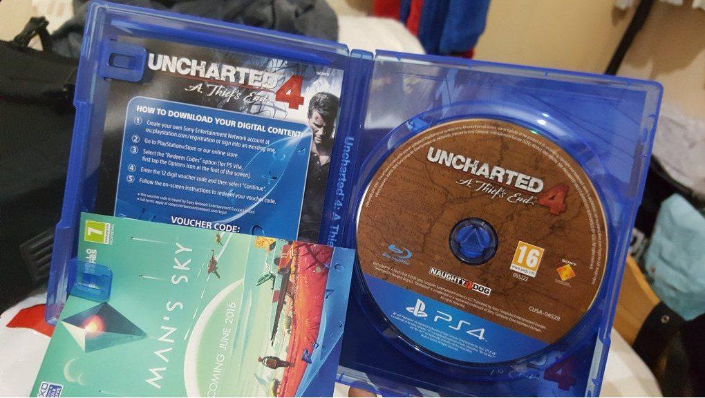 Oto dowód uncharted dostępnego przed premierą