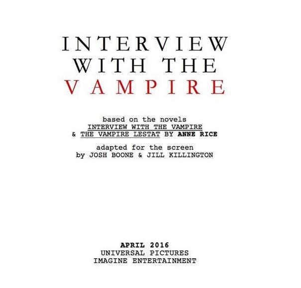 remake wywiadu z wampirem
