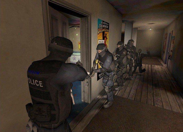 SWAT 4 The Game kooperacja