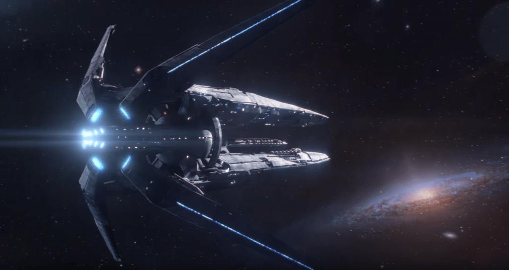 mass effect andromeda main ship