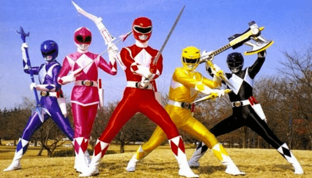 nowe power rangers