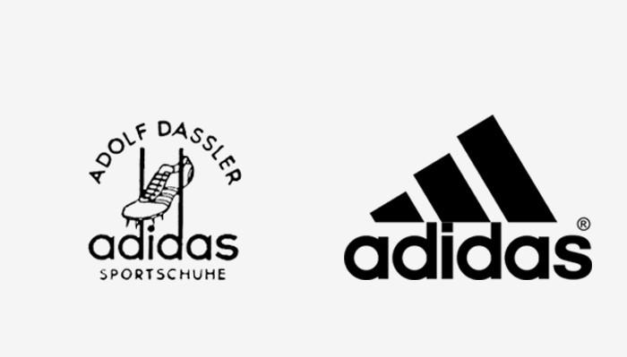 Adidas - 25 najpopularniejszych logo