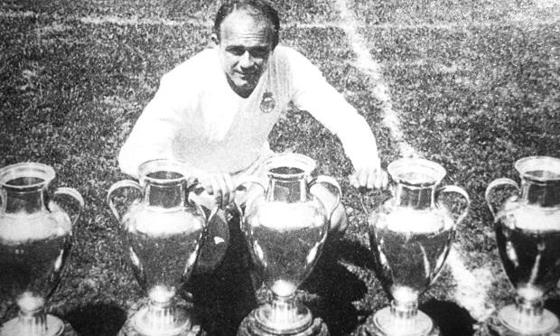niezapomniani piłkarze Realu Madryt