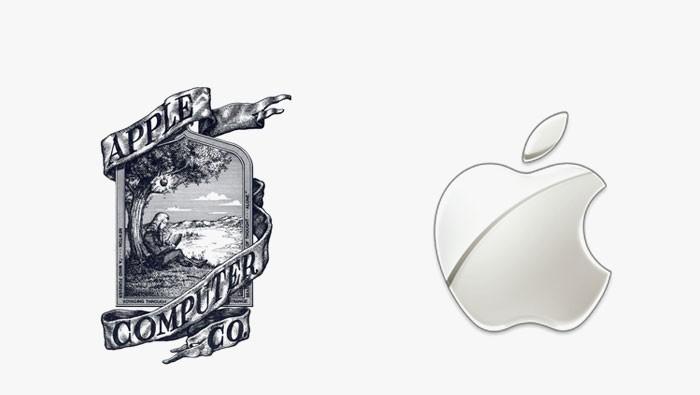 Apple - 25 najpopularniejszych logo