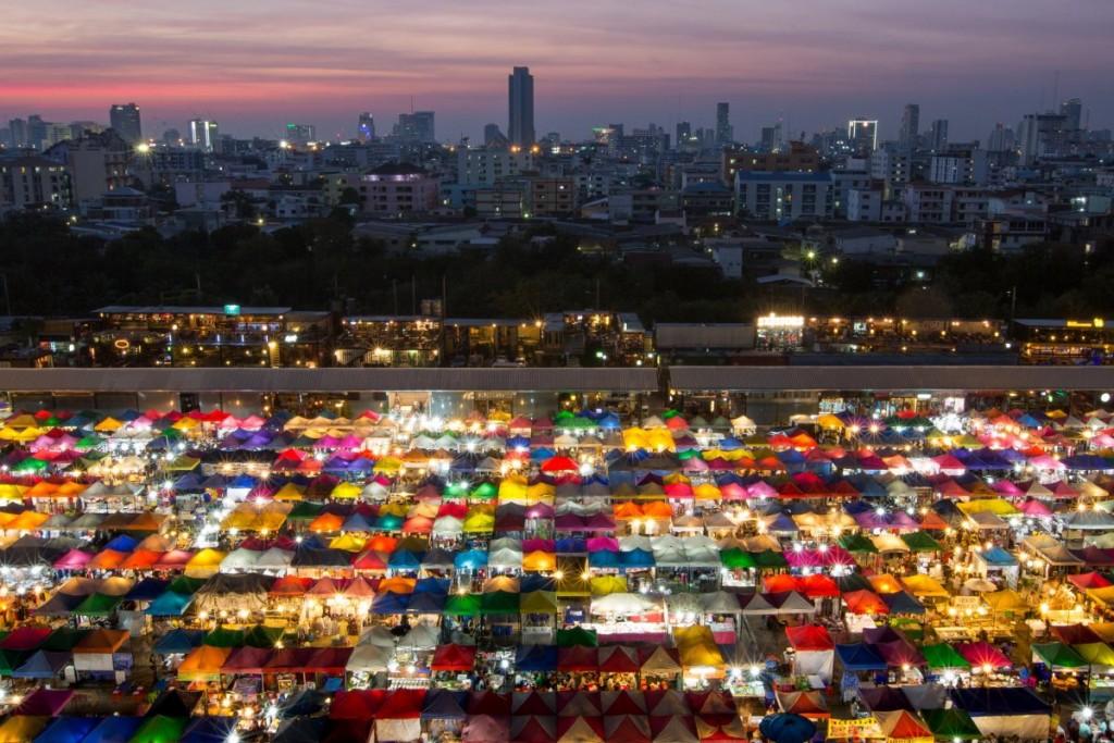 Bangkok, Tajlandia - najpiękniejsze turystyczne fotografie
