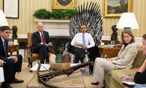 barack obama odgaduje bohaterow gry o tron