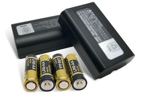 aparat cyfrowy baterie