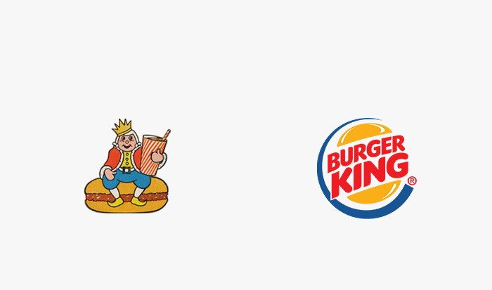 Burger King - 25 najpopularniejszych logo