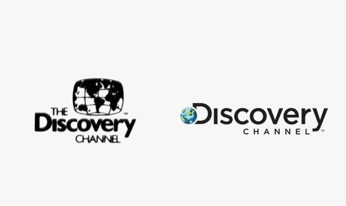 Discovery Channel - 25 najpopularniejszych logo