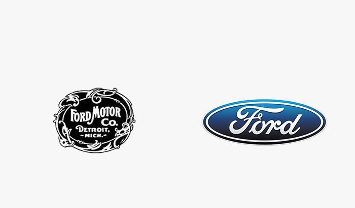Ford - 25 najpopularniejszych logo
