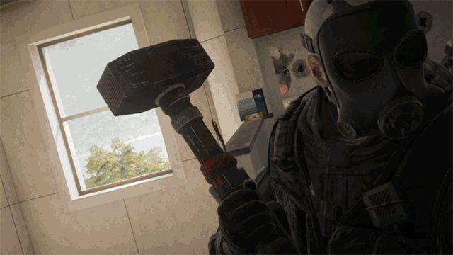Bany w R6:Siege