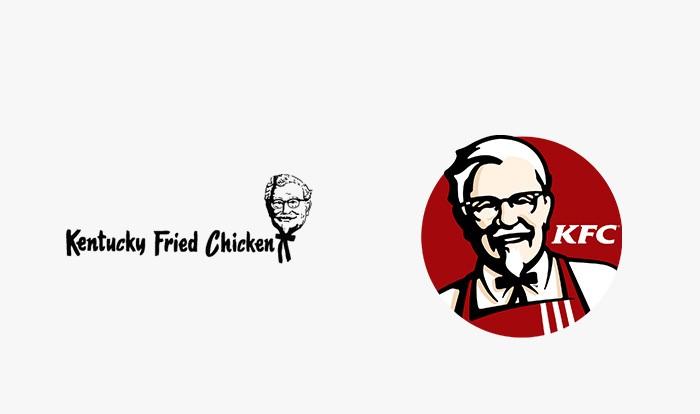 KFC - 25 najpopularniejszych logo