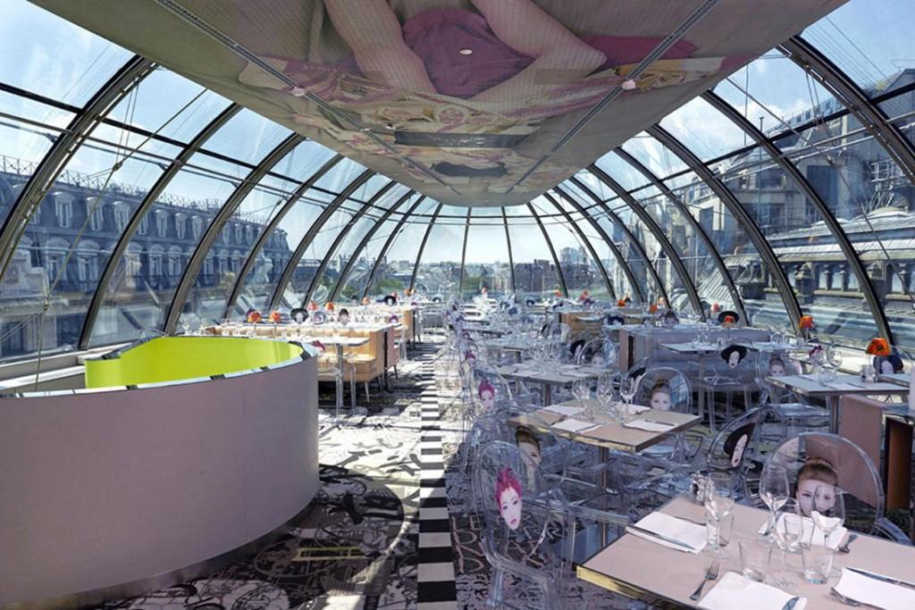 Kong - 10 restauracji, z najwspanialszym widokiem w Paryżu
