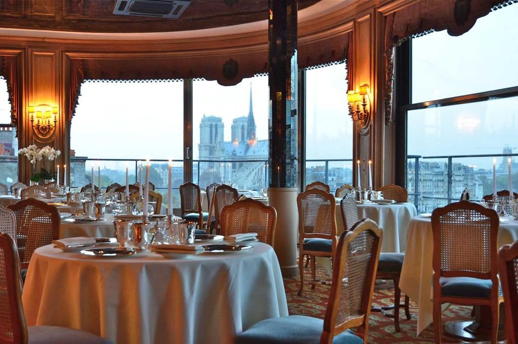 La Tour d'Argent - 10 restauracji, z najwspanialszym widokiem w Paryżu