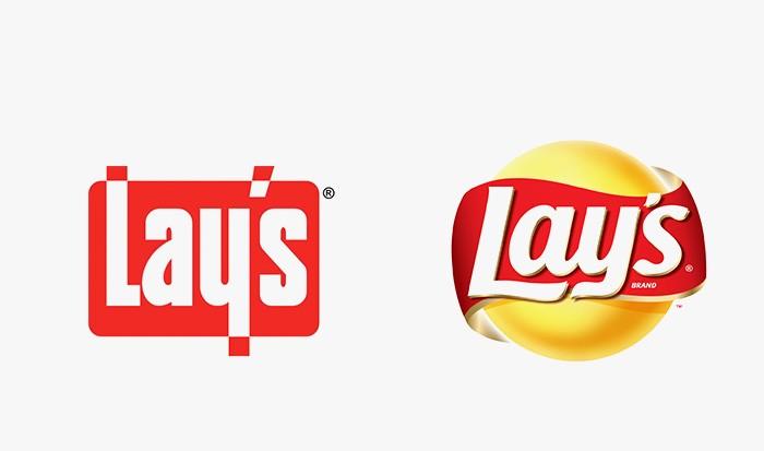 Lay's - 25 najpopularniejszych logo