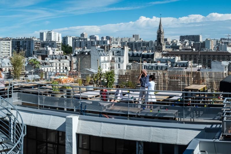 Le Perchoir - 10 restauracji, z najwspanialszym widokiem w Paryżu