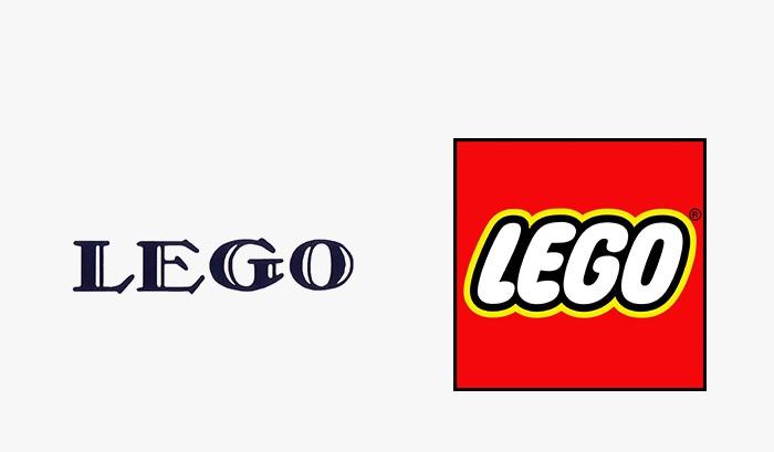 Lego - 25 najpopularniejszych logo