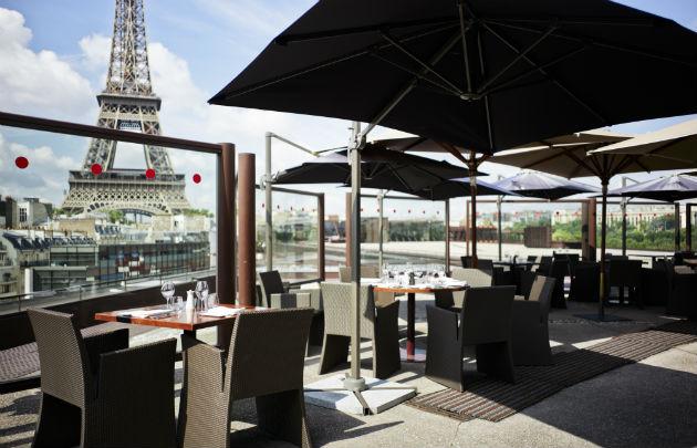 Les Ombres - 10 restauracji, z najwspanialszym widokiem w Paryżu