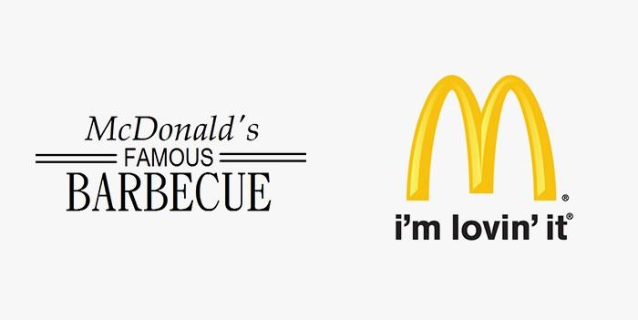 McDonald's - 25 najpopularniejszych logo