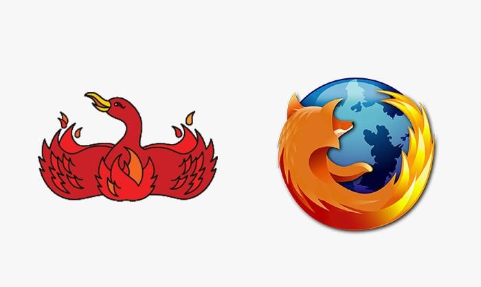 Mozilla Firefox - 25 najpopularniejszych logo