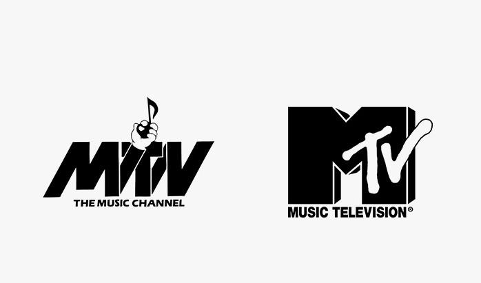 Mtv - 25 najpopularniejszych logo