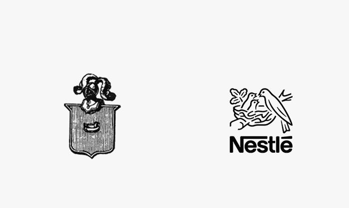 Neslte - 25 najpopularniejszych logo