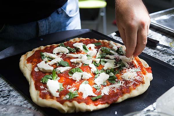 przepis na grillowaną pizze