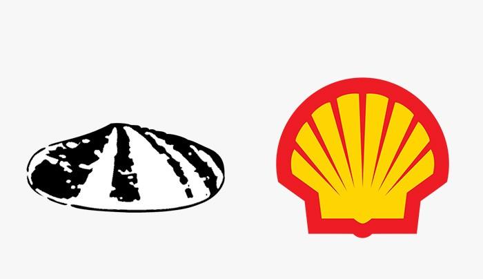 Shell - 25 najpopularniejszych logo