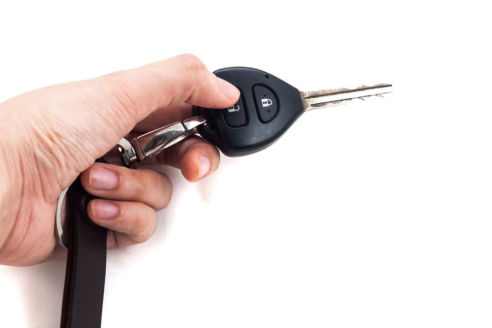 Immobiliser w kluczyku