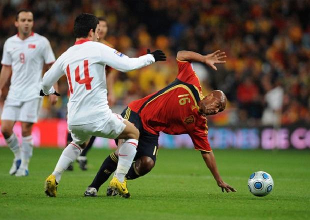 Mecz Hiszpania - Turcja