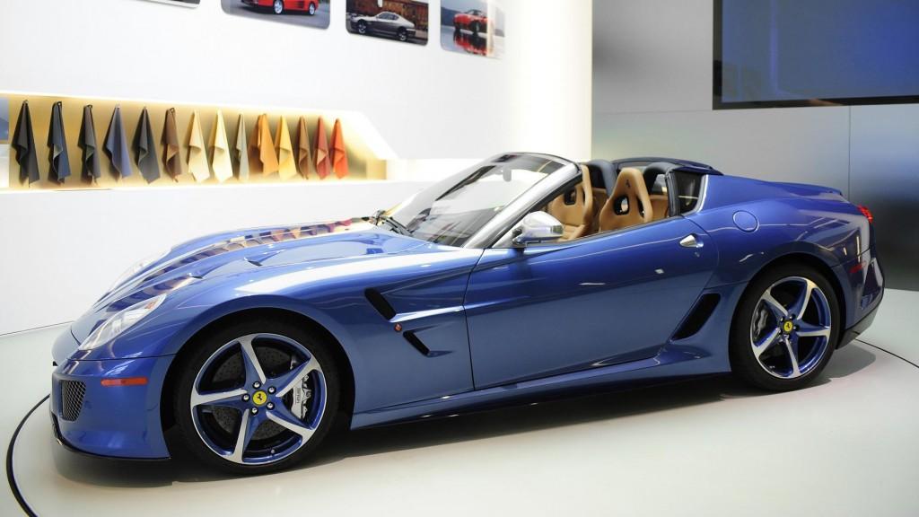 specjalne modele Ferrari