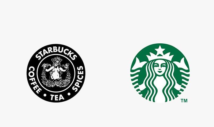 Starbucks - 25 najpopularniejszych logo