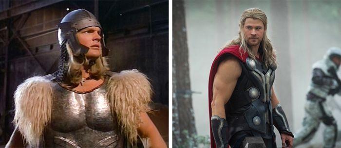 superbohaterzy kiedyś i dziś